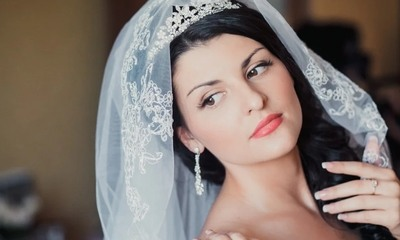 свадебный макияж для карих глаз брюнеток