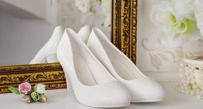 туфли или босоножки на свадьбу невесте