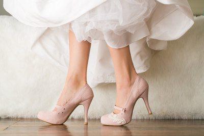 какие туфли одевают на свадьбу