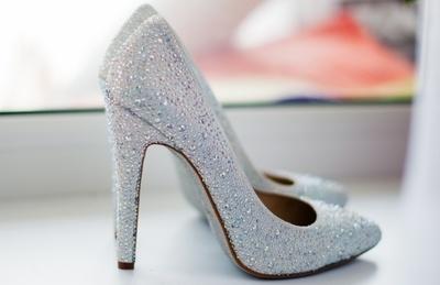 туфли на свадьбу на высоком каблуке