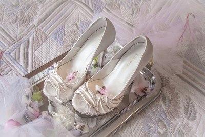 какие туфли под свадебное платье