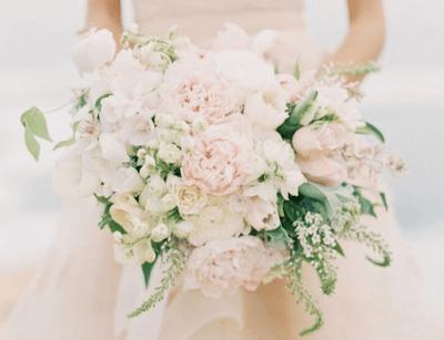 букет невесты цвет айвори