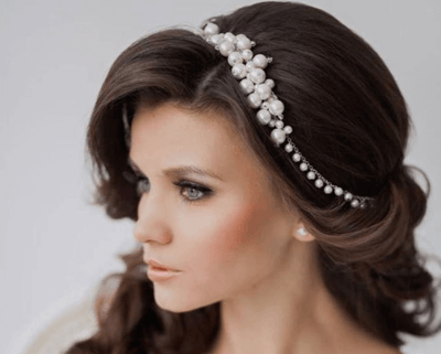 Прически с диадемой на свадьбу для невесты