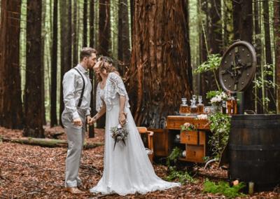 Платье для невесты в стиле «Рустик»