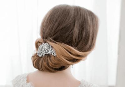 собранные прически на свадьбу