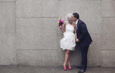 Короткие платья на свадьбу