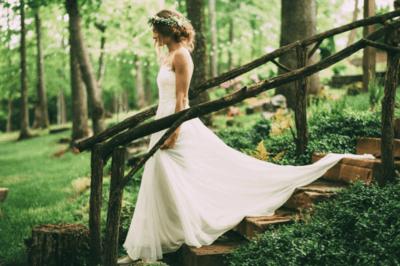 Как подобрать легкое — воздушное платье для невесты