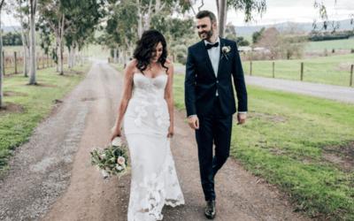 Легкие летние свадебные платья