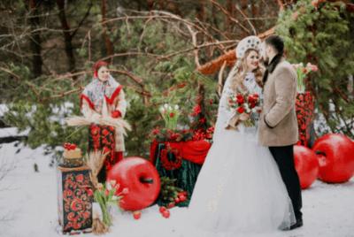 свадебный наряд на руси
