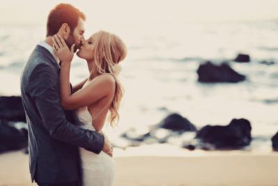Платье для свадьбы на море