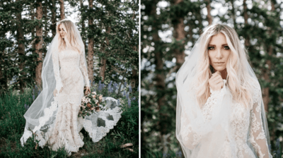 Платья невесты с рукавами