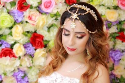 Тенденции свадебного макияжа 2018